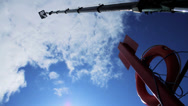 Stock Video Footage of Bungee Jump 160ft High HD