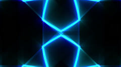 Abstract lines and light, futuristic waves digital background, HD 1080p, loop. Stock Footage