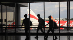 Don Mueang Airport Stock Footage