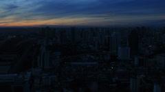 Skyline of bangkok Stock Footage