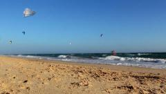 Kite Surf QDL F - stock footage