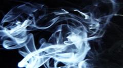 Smoke rising. - stock footage