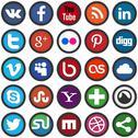 Stock Illustration of social media icons