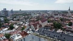 Architecture streets of Tallinn 29 - stock footage