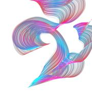 Abstract waves Stock Illustration