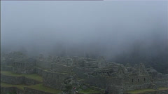 Stock Video Footage of Macchu Pichu - Mystic Atmosphere at the Inca ruins in Peru