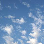 Stock Photo of blue sky with clouds