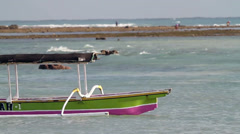 fishing boats - stock footage