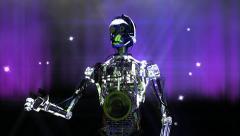 Robot animation Stock Footage
