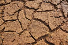 land without water it look dry and arid. - stock photo