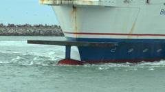 MyFerrylink ferry Calais, France. Stock Footage