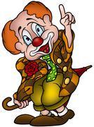 Circus Clown - stock illustration