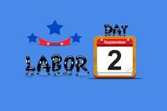 Labor day 2013. Stock Illustration