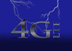 4g lte telecommunication. - stock illustration
