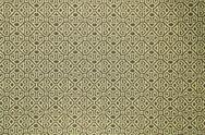 Stock Photo of pattern of yellow tradition clothing wall paper panel, close up