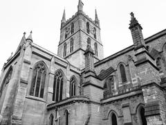 southwark cathedral, london - stock photo