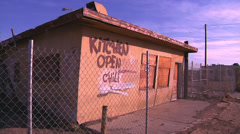 Route 66 Kitchen Stock Footage