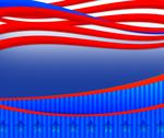 Stock Illustration of usa elections background