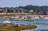 Stock Photo of Port in Brittany