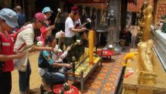 Wat Doi Suthep, Thailand Stock Footage