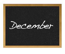 december. - stock illustration