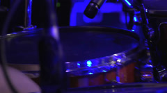 Drumset, Snare Stock Footage