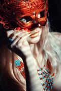 masquerade - stock photo