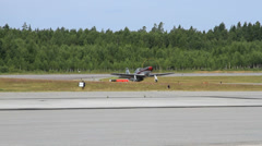 Cavalier F-51D Mustang II taxis in Stock Footage