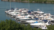 Stock Video Footage of Marina Boats, Harbors, Docks, Ports, Yachts, 2D, 3D