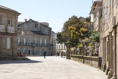 Park in pontevedra, galicia Stock Photos