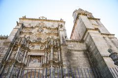 St. james cathedral in pontevedra, galicia Stock Photos