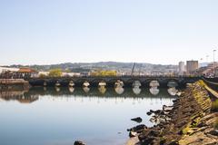 Ponte de burgo bridge, pontevedra, galicia Stock Photos