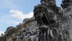 Fountain in Thailand - stock footage