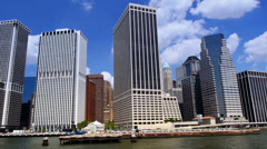 Lower Manhattan Timelapse - stock footage
