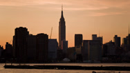 Stock Video Footage of Manhattan Skyline