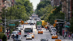 Chelsea 14th Street Manhattan NYC Stock Footage