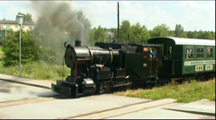 steam locomotive - stock footage