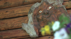 Wood Carving Stock Footage