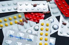 Medicine drugs pharmacy - stock photo