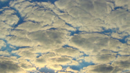 Stock Video Footage of Cloud timelapse sun rays through cloudy sky