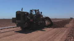 Ditch Witch at work 1 Stock Footage