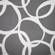 abstract pattern of interlocking circles - stock photo