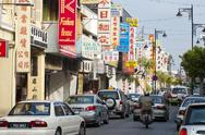 Stock Photo of chinatown, penang, malaysia