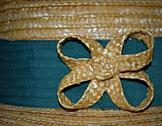 Stock Photo of detail straw hat