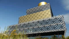 Birmingham Central Library. Stock Footage