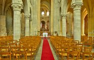 Stock Photo of France, the Saint Martin church of Triel sur Seine