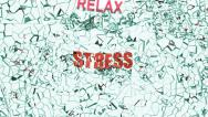 Stock Video Footage of Stress broken by relax