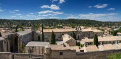 monastery of villeneuve-les-avignon - stock photo