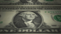 U.S. Currency $1 Bill Printing Press (60fps) - stock footage