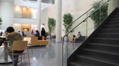 Student Center at University Stock Footage